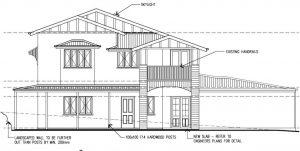 camp hill elevation drawing - Designer Planning