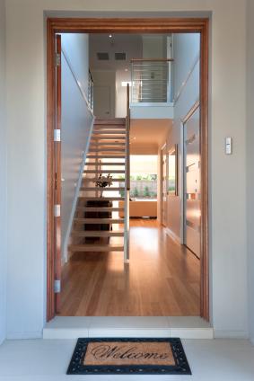 House with a open door - Designer Planning