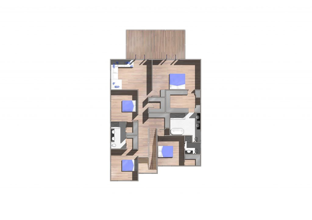 Hendra New Home Upper Floor Plan