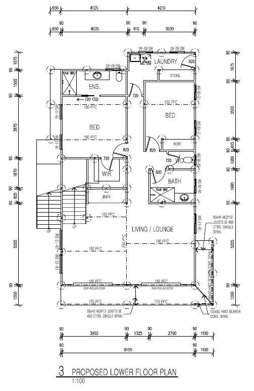 Floor Plans Drawing - Designer Planning