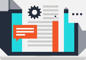 Digital Marketing Icon - Designer Planning