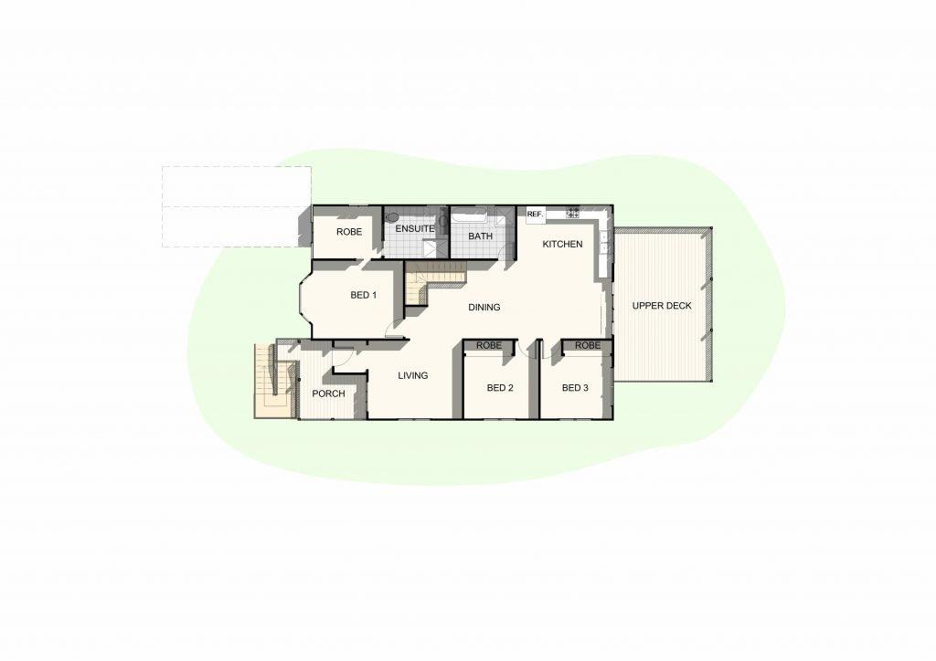 Holland Park - Upper Floor Plan
