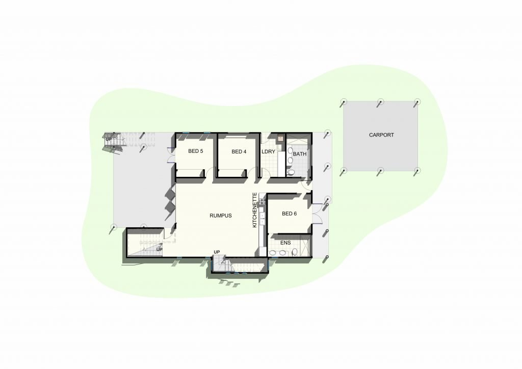 Shorncliffe - Lower Floor Plan