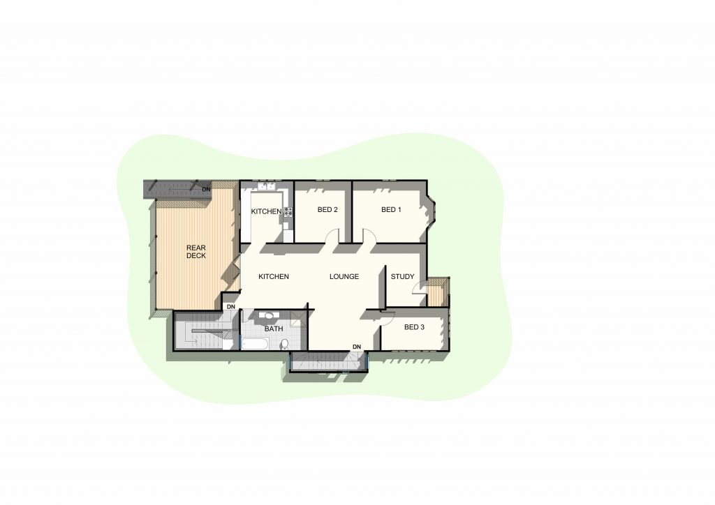 Shorncliffe - Upper Floor Plan