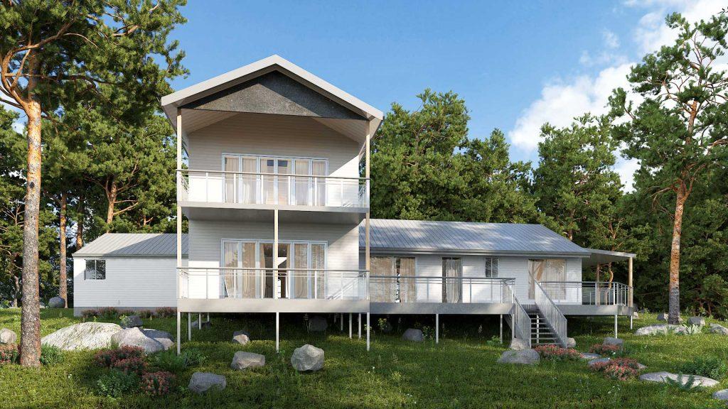 Doonan New House Render