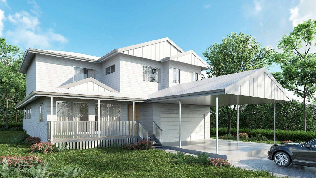 Graceville New Home Render