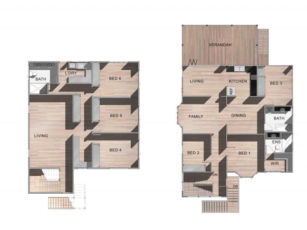 Grange New Home Floor Plan
