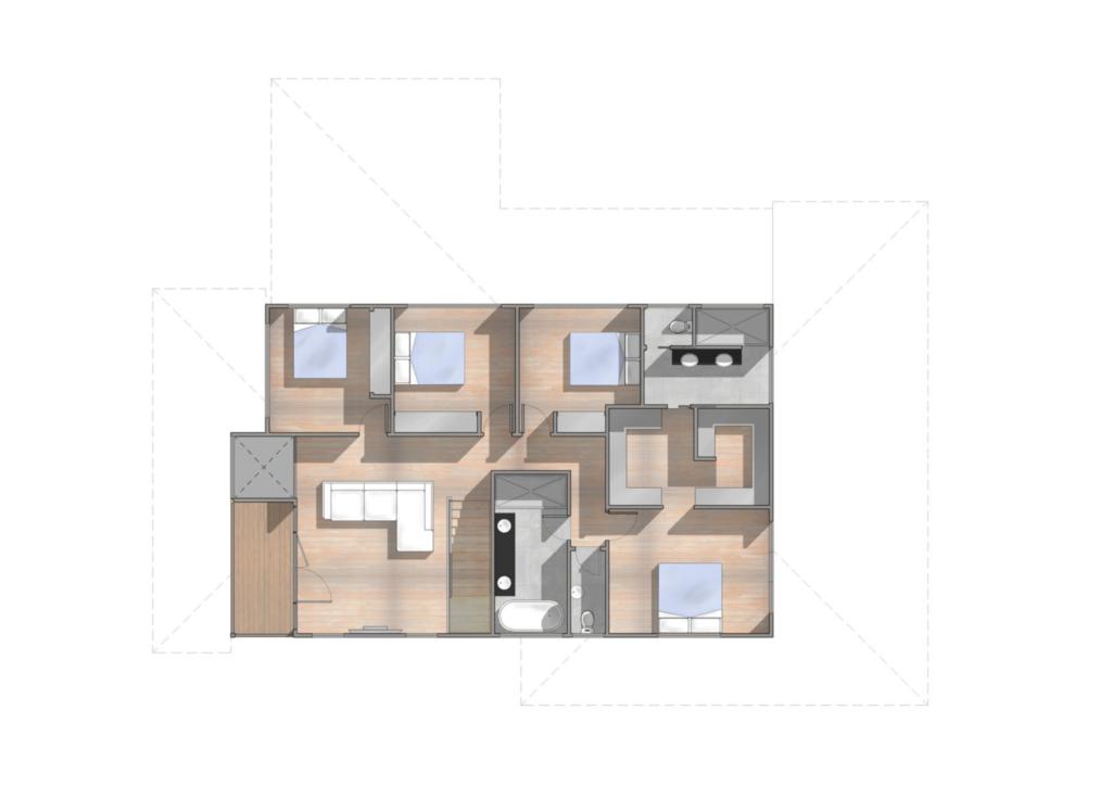 Upper Floor Plan - Upper Mount Gravatt