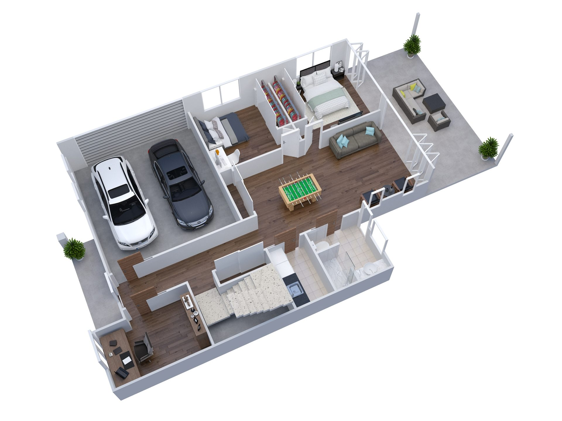 House Raise Manly Floorplan